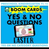 BOOM CARDS™ Yes or No Questions EASTER