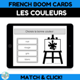 French BOOM CARDS apprendre les couleurs