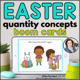 Quantity Concepts for Easter | Distance Learning BOOM CARDS™