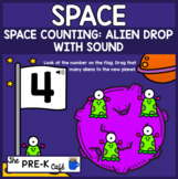 BOOM Card Space Counting Alien Drop WITH SOUND
