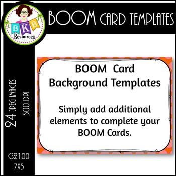 BOOM Card Templates CS2100  ● Background ● Task Card Template