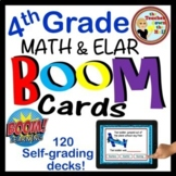 BOOM Cards 4th Grade Bundle (70 decks and Growing!)