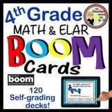 01 BOOM Cards 4th Grade Growing Bundle