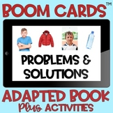 BOOM Cards™️ Adapted Book Problem Solving Real Photos Auti