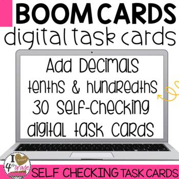 BOOM Cards Adding Decimals