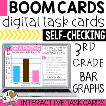 BOOM Cards Bar Graphs