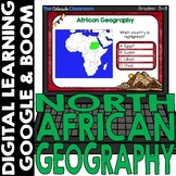 African Map and Geography DIGITAL Cards Set 1   Google Cla