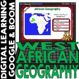African Map and Geography DIGITAL Cards Set 2   Google Cla