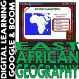 African Map and Geography DIGITAL Cards Set 5   Google Cla