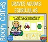 BOOM Cards™ | Agudas, Graves y Esdrújulas | Spanish Resources