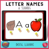Boom Cards Alphabet Sounds and Letter Recognition
