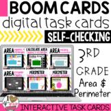 BOOM Cards Area and Perimeter Bundle