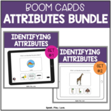 BOOM Cards Attributes for Speech Therapy BUNDLE   Describi