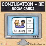 BOOM Cards : BE - Subject Verb Agreement - Distance Learning