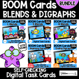 BOOM Cards BUNDLE- Blends and Digraphs- Distance Learning