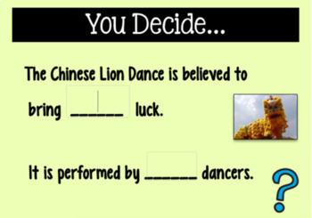 BOOM READING and ELA CHINESE NEW YEAR Digital Task Cards