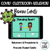 BOOM Cards | COVID Procedures & Behaviors for Safety