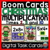 BOOM Cards Christmas Math Multiplication