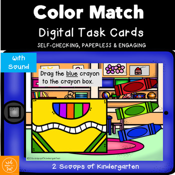 BOOM Cards~ Color match