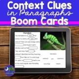Context Clues Passages   Boom Cards Paragraphs
