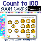 BOOM Cards Count to 100 Digital Tasks for Distance Learning