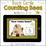 BOOM Cards-Counting 0-10 Bees-Distance Learning