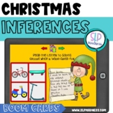 BOOM Cards Dear Santa Letters- Inferences Christmas Speech