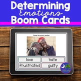 BOOM Cards Determining Emotions Full Color Photos Distance