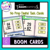 BOOM CARDS MATH | 2 Digit Addition with Regrouping | Digital Task Cards