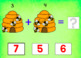 BOOM Cards (Digital Task Cards) Addition Facts: Honeybee Theme
