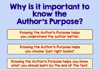 BOOM Cards (Digital Task Cards): Author's Purpose