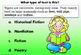 DIGITAL BOOM CARDS READING and GENRES TASK CARDS