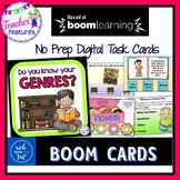 BOOM CARDS READING | GENRES