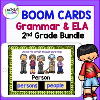 BOOM CARDS BUNDLE Digital Task Cards for ELA