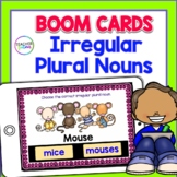 BOOM CARDS GRAMMAR: Irregular Plural Nouns