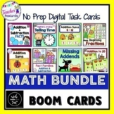 BOOM Cards (Digital Task Cards): MATH BUNDLE