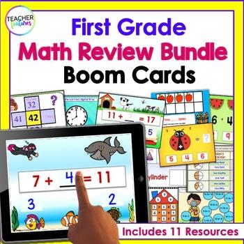 BOOM CARDS BUNDLE Digital Task Cards for MATH