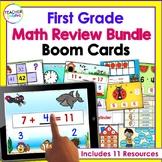 Digital MATH BOOM CARDS 1st Grade Bundle