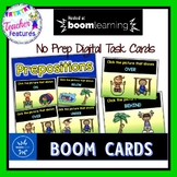 BOOM CARDS Kindergarten and First Grade PREPOSITIONS