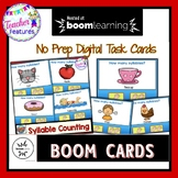 BOOM CARDS KINDERGARTEN | Phonemic Awareness | SYLLABLE COUNTING