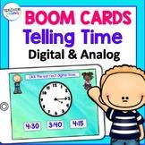 Digital Boom Cards MATH Telling Time Digital & Analog