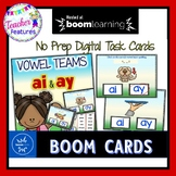 BOOM CARDS Vowel Teams and Spelling - AI & AY