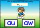 BOOM Cards (Digital Task Cards) Vowel Teams: AU & AW