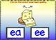 DIGITAL BOOM CARDS PHONICS Vowel Teams EE & EA