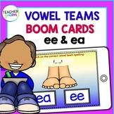 BOOM CARDS Vowel Teams and Spelling - EE & EA
