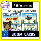 BOOM Cards (Digital Task Cards):  Vowel Teams: OA & OW