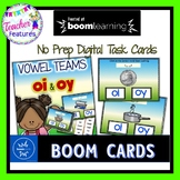BOOM Cards (Digital Task Cards):  Vowel Teams: OI & OY