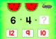 BOOM Cards (Digital Task Cards): Watermelon Addition Facts to 20