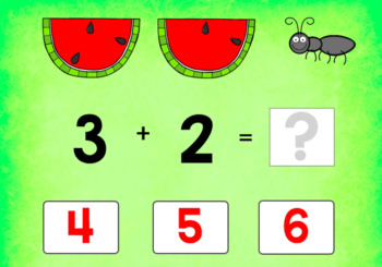 BOOM CARDS MATH | Addition Facts to 20 | Kindergarten & First Grade