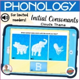 BOOM Cards   Digital Speech Therapy   Phonetics   Initial